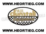 Paul Dunstall Equipment Transfer Decal D20082A-5